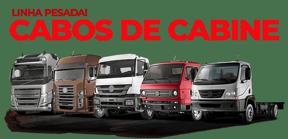 catálogo de cabos de comando automotivos